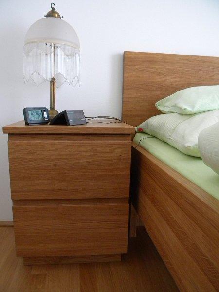 Moebel Schlafzimmer Sz Nachtkastchen Eiche Massiv Geolt